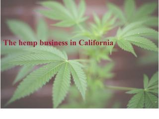 The hemp business in California