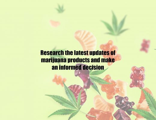Research the latest updates of marijuana products and make an informed decision